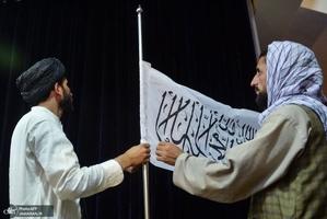 نشست رسانه ای «ذبیحالله مجاهد» سخنگوی طالبان