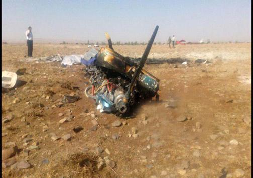 جانباختن دو سرنشین مرد و زن در سقوط هواپیمای آموزشی