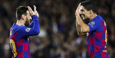 مسی دبل کرد و بارسلونا جای رئال مادرید را گرفت