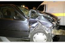 تصادف در جاده یاسوج به شیراز 2 کشته و 3 مصدوم بر جا گذاشت