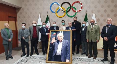 تقدیر کمیته ملی المپیک از پیشکسوتان بوکس+ عکس