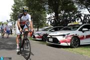 المپیک 2020| رکاب های بی انتهای دوچرخه ایرانی در توکیو؛ صفرزاده به خط پایان نرسید +عکس