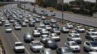 ترافیک سنگین در آزادراه تهران-کرج ممنوعیت ورود به شهرها از ۲۴امشب