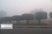 بارش پراکنده و مه پدیده غالب جوی در خوزستان