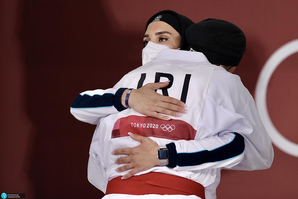 گریه های حمیده عباسعلی در میکسدزون پس از حذف از المپیک 2020؛ همه چیز تمام شد!