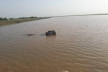 سیلاب به مزارع کشت و صنعت نیشکر امام خمینی (ره) وارد شد