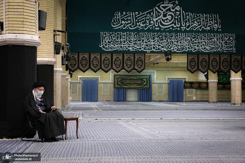 اولین شب عزاداری فاطمیه در حسینیه امام خمینی(ره)