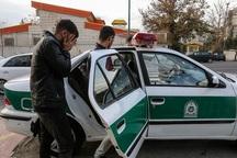 سارق قطعات خودرو در تاکستان دستگیر شد