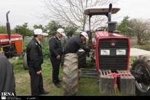 15 هزار ماشین کشاورزی در خراسان رضوی پلاک گذاری شدند