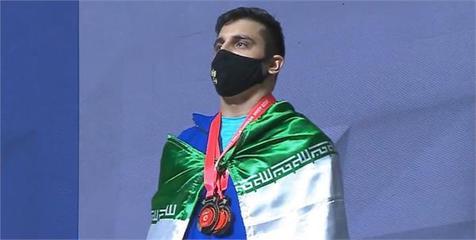 پیام تبریک کمیته ملی المپیک برای قهرمانی معتمدی در وزنه برداری قهرمانی آسیا