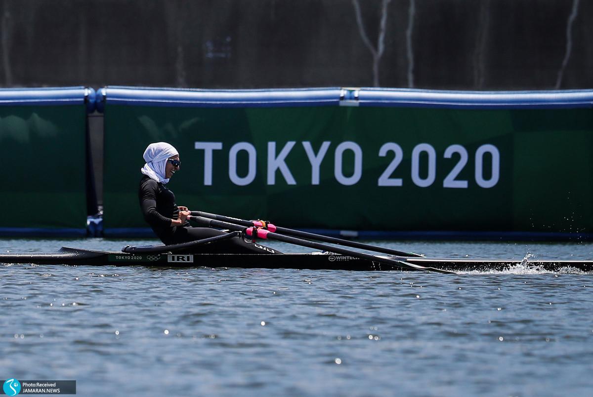 المپیک 2020 توکیو  نازنین ملایی به فینال B رفت و از کسب مدال بازماند