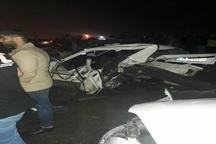 حادثه رانندگی در آبادان یک کشته و 2مصدوم بر جا گذاشت