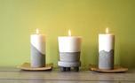 آموزش شمع های بتنی که ندیده اید+ عکس و فیلم