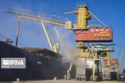 پهلوگیری کشتی ۶۴هزار تنی گندم در بندر امام خمینی(ره)