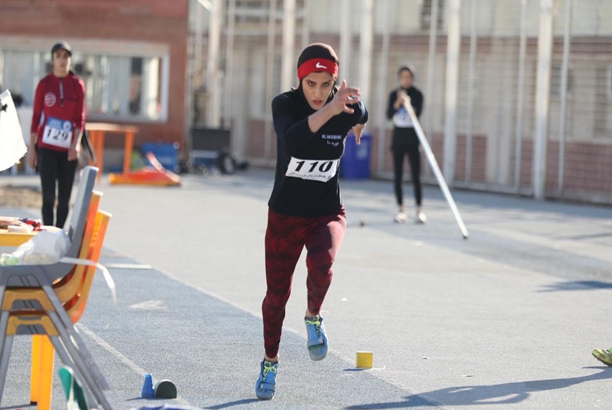 ادامه درخشش و رکوردشکنی دختر پرنده ای که به المپیک نرفت!