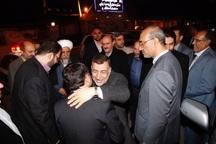 وزیر دادگستری وارد استان قزوین شد