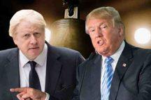 چرا ترامپ انگلیسی ها را تحریک کرد؟تخم مرغ های فاسد در انتظار رئیس جمهور آمریکا
