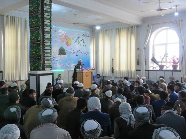 برگزاری جشن مبعث در مرکزی فقهی ائمه اطهار (ع) کابل + تصاویر