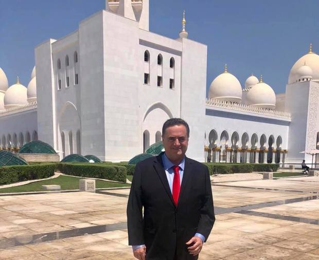 سفر وزیر خارجه رژیم اسرائیل به امارات+عکس