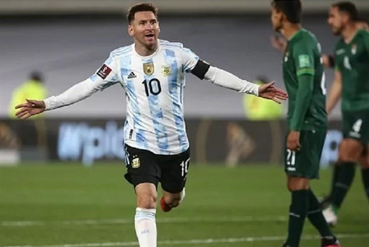 آرژانتین با هت تریک مسی برد؛ صدرنشینی برزیل تثبیت شد