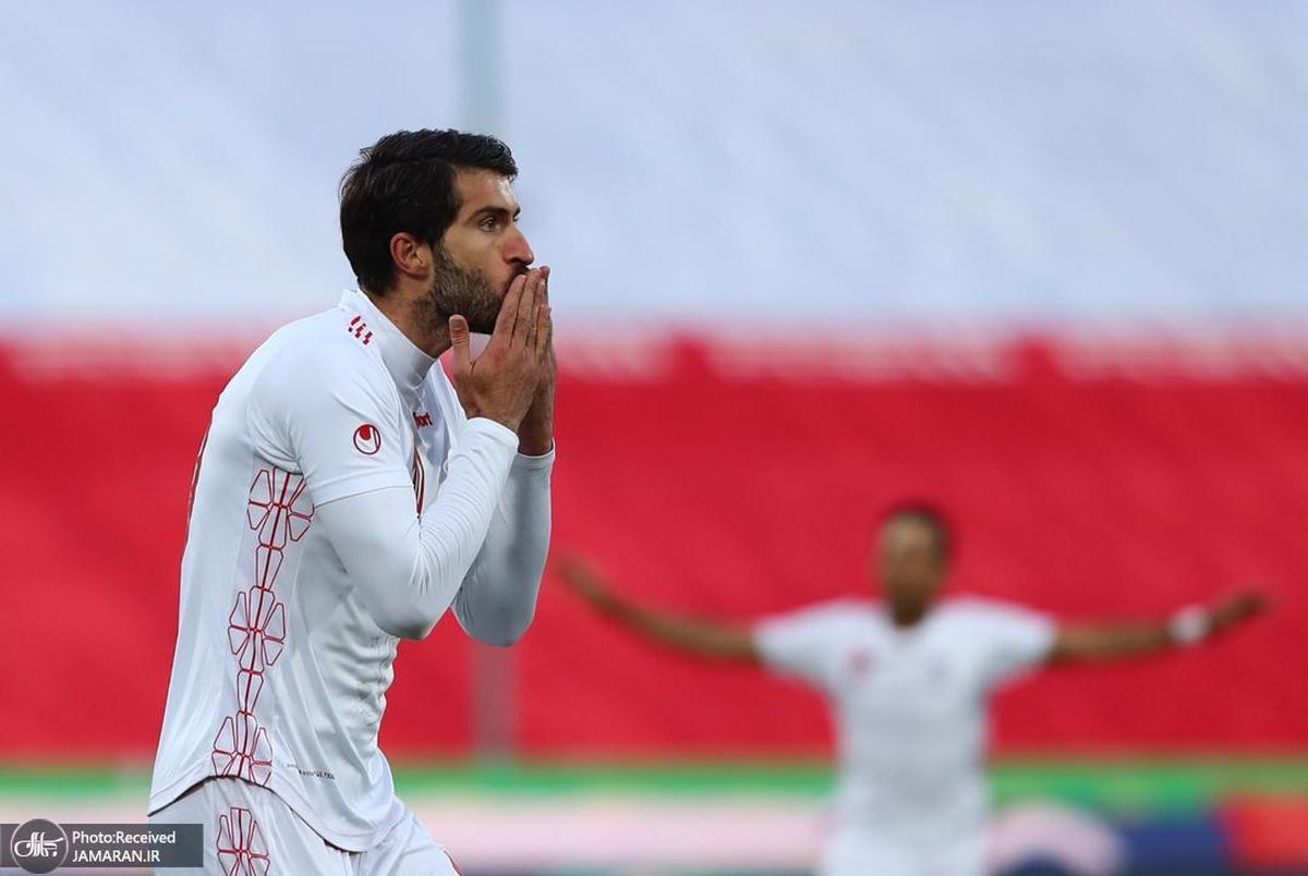 انصاری فرد سومین گلزن آسیایی انتخابی جام جهانی 2022
