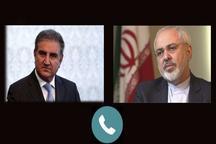 وزیر خارجه پاکستان، ظریف را در جریان مواضع اسلامآباد علیه تحریمهای ایران قرار داد