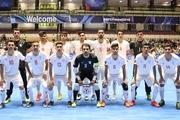 پیروزی تیم ملی فوتسال زیر 20 سال مقابل بزرگسالان تاجیکستان