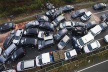رد تغییرات اقلیمی بر جاده های مازندران