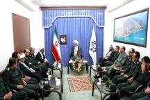 امام جمعه بوشهر:سپاه، پاسدار واقعی انقلاب اسلامی است