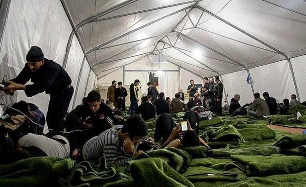 اقامتگاه های سپاه در مرز مهران آماده پذیرش زائران است