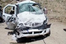 تصادف در جاده امیدیه 2 کشته برجای گذاشت