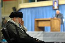 مراسم سوگواری مولای متقیان امام علی(ع)  با حضور رهبر معظم انقلاب