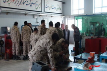 فنی و حرفه ای 1100 سرباز را آموزش داد