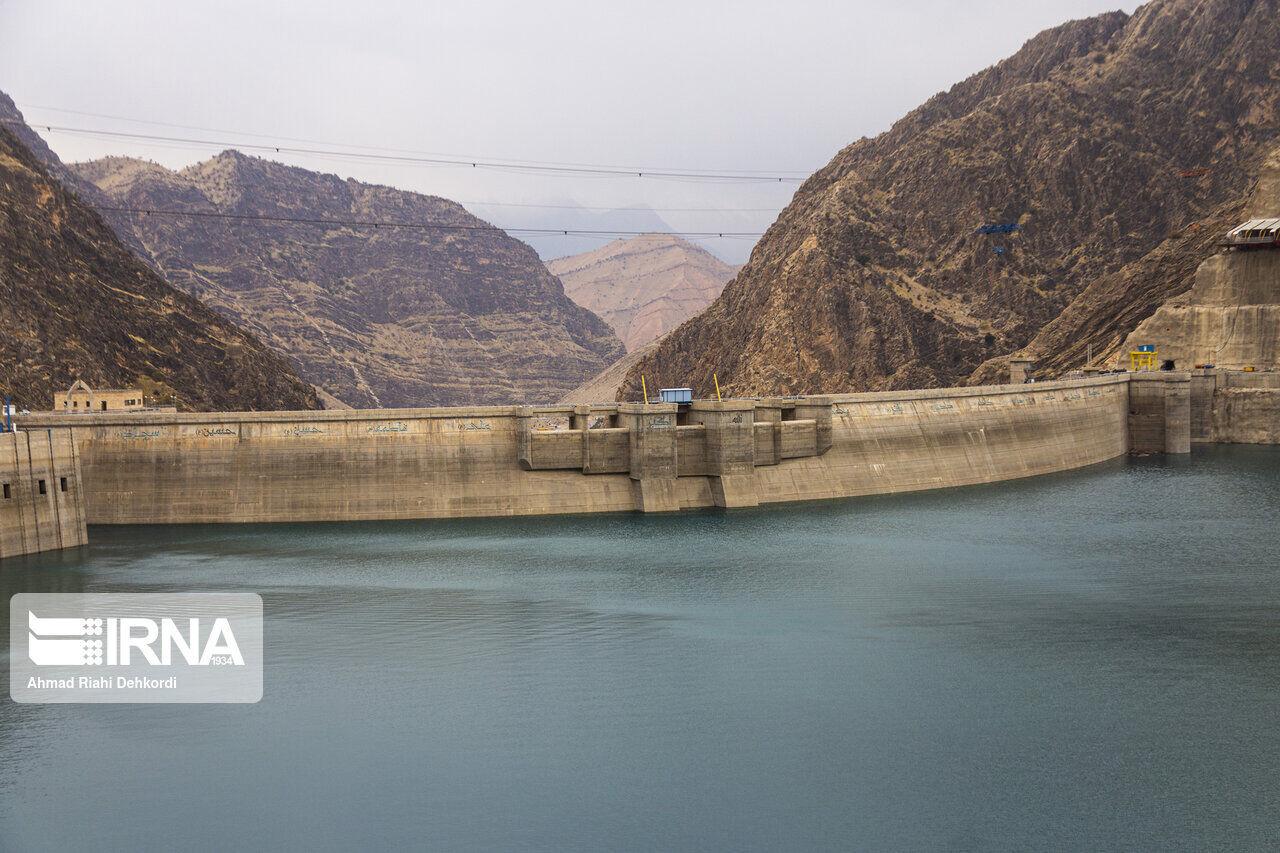 سد رئیسعلی دلواری ۱۱۱ میلیون مترمکعب آبگیری کرد