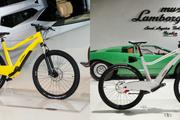 رونمایی از دوچرخه های الکتریکی لامبورگینی+ عکس