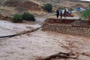 طغیان رودخانه راه ارتباطی ۱۷روستای ریگان را قطع کرد