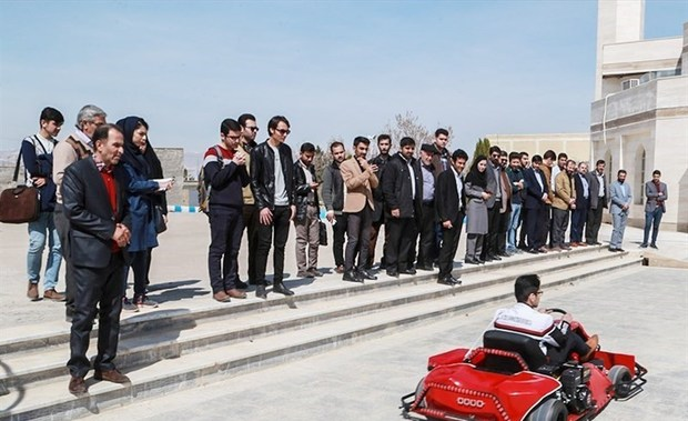 خودروی کارتینگ بومی ساخته شده در خراسان شمالی رونمایی شد