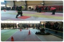 مسابقات ورزشی آتش نشانان مشهد