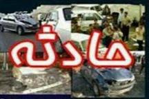 واژگونی خودرو در شهرستان اردستان یک کشته و 2 زخمی به جا گذاشت
