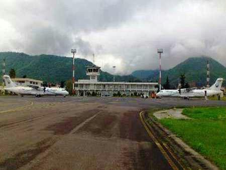 پرواز مشهد و اصفهان در فرودگاه رامسر برقرار می شود