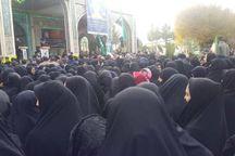 مراسم گرامیداشت شهید خردسال حمله تروریستی اهواز در میمه برگزار شد
