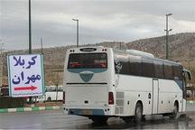امسال 910اتوبوس از آذربایجان غربی زائران اربعین را جابجا کرد