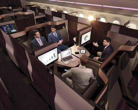 هواپیماهای آینده از آپارتمان مجللتر خواهند بود + مشخصات و تصاویر
