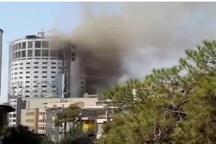 آتشسوزی در هتل آسمان شیراز