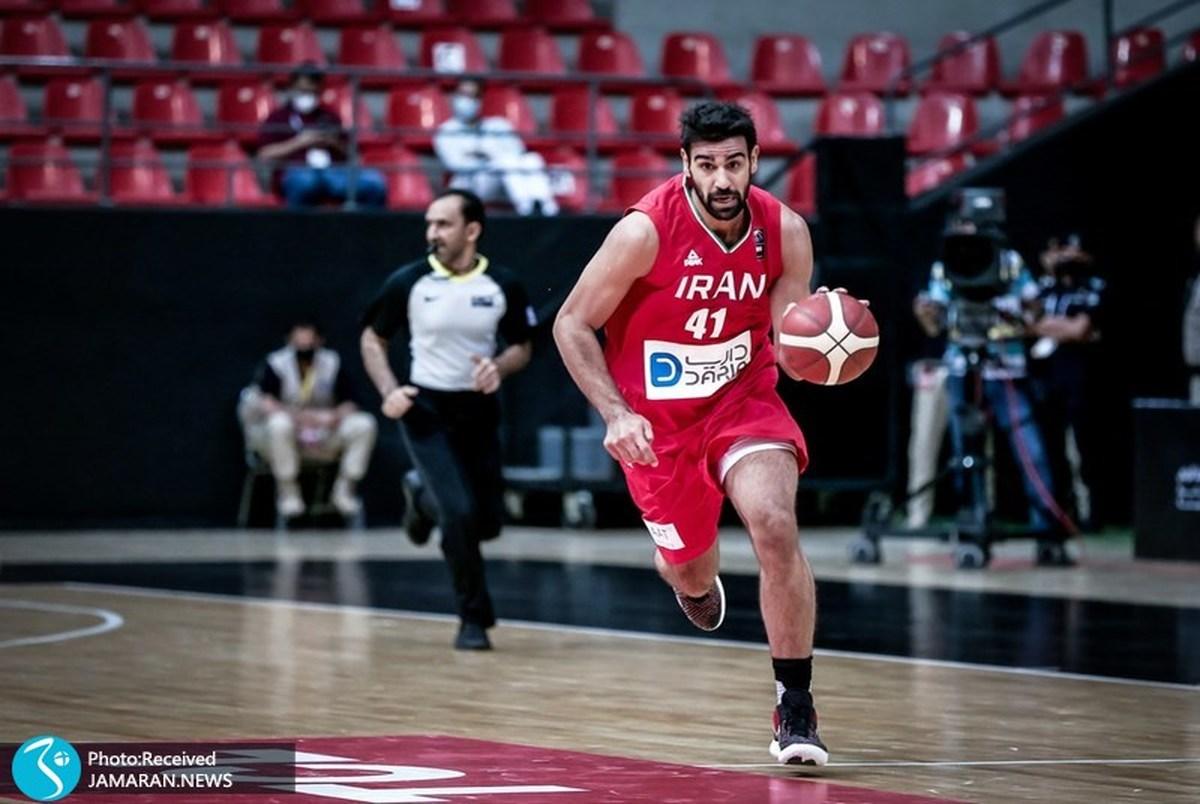 شکست میزبان المپیک مقابل تیم ملی بسکتبال ایران