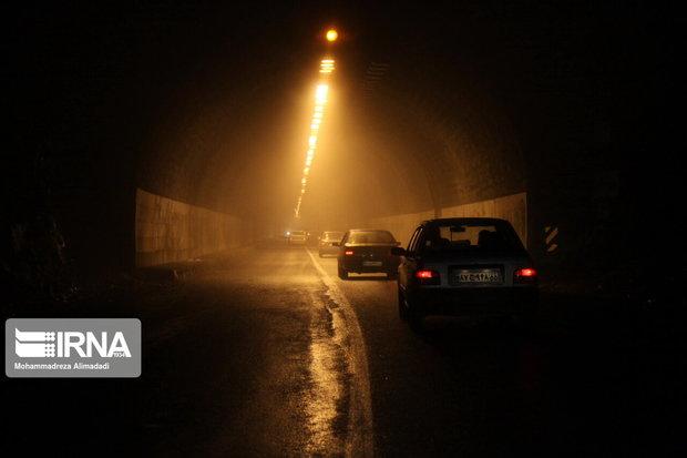 تونل حیران جاده اردبیل - آستارا مسدود شد