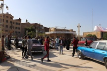 نخستین نمایشگاه خودروهای کلاسیک در آبادان برگزار شد