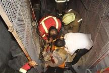 سه نفر بر اثر سقوط آسانسور در شهر صنعتی البرز مصدوم شدند