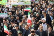 مردم سنقر و کلیایی سالگرد انقلاب اسلامی را جشن گرفتند