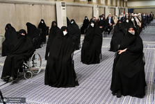 دختران حضرت امام(س) در مراسم تنفیذ ریاست جمهوری